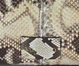 Valentino brown beige snake skin taupe Tote 9