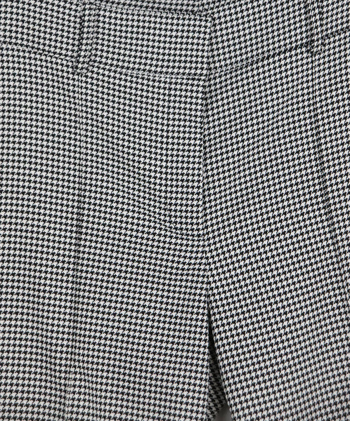 Veronica Beard Grey Houndstooth Viscose Pants 3