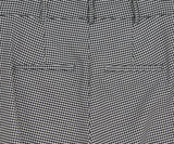 Veronica Beard Grey Houndstooth Viscose Pants 4