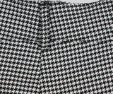 Veronica Beard Grey Houndstooth Viscose Pants 5