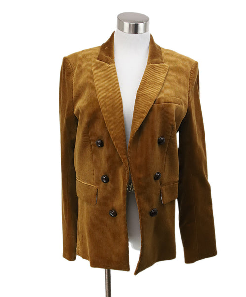 Veronica Beard Brown Corduroy Jacket 1