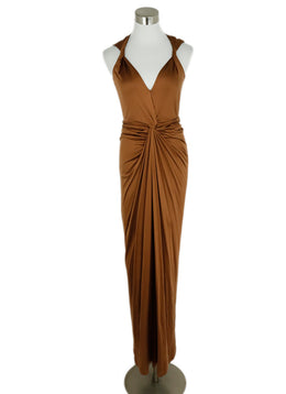 Veronica Beard Brown Viscose Dress 1
