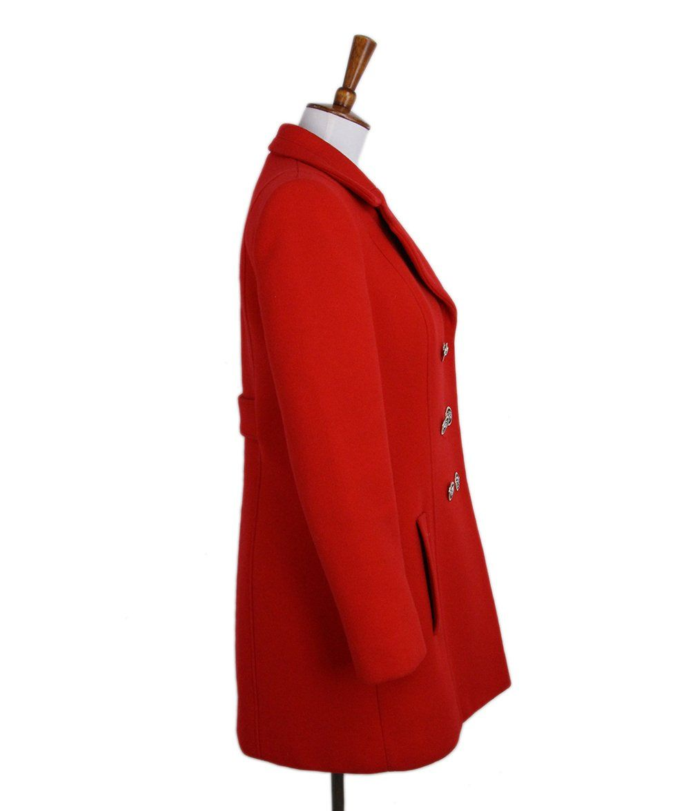 Versace Red Coat 2