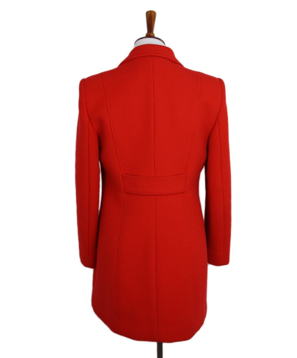 Versace Red Coat 3