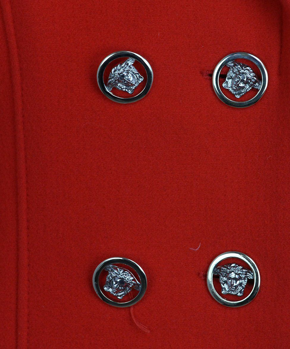 Versace Red Coat 6