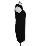 Versace Black Wool Sleeveless Dress 2