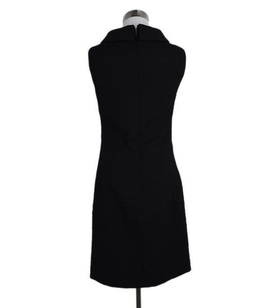 Versace Black Wool Sleeveless Dress 3