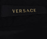 Versace Black Wool Sleeveless Dress 4