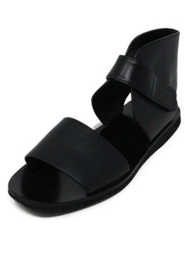 Vince Black Leather Sandals 1