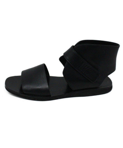 Vince Black Leather Sandals 2