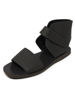 Vince Grey Leather Sandals 1