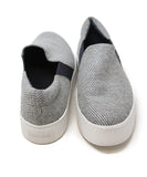 Vince Grey Navy Canvas Sneakers 3