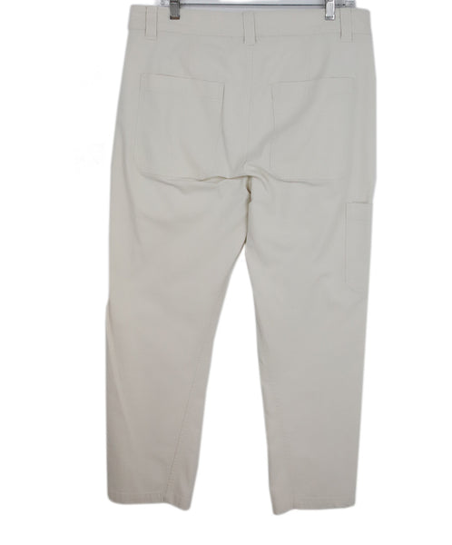Vince Beige Cotton Pants 2