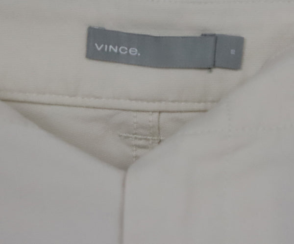 Vince Beige Cotton Pants 4