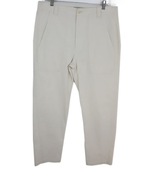Vince Beige Cotton Pants 1