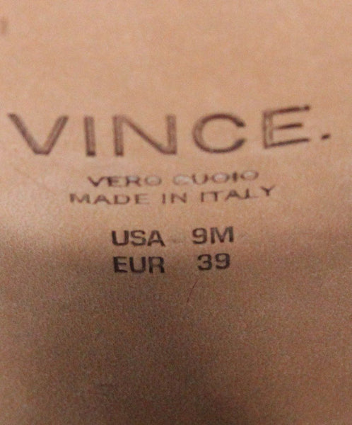Vince Nude Leather Sandals 4