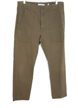 Vince Tan Cotton Pants 1