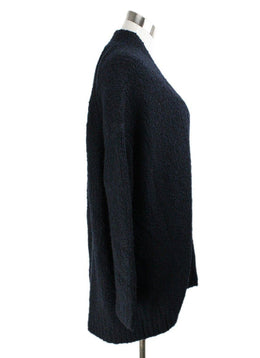 Cardigan Vince Blue Navy Wool Cashmere Sweater 2