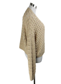Vince Beige Cotton Sweater 2