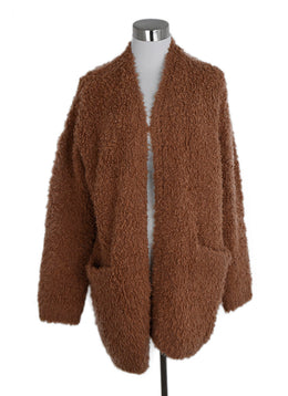 Vince Peach Wool Cashmere Sweater Coat 1