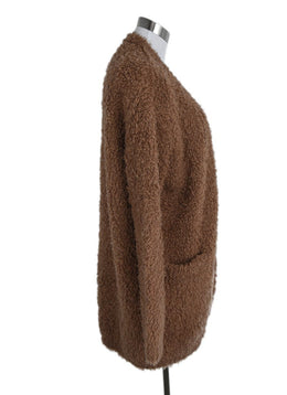 Vince Peach Wool Cashmere Sweater Coat 2