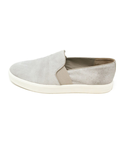 Vince Taupe Suede Zipper Sneakers 2