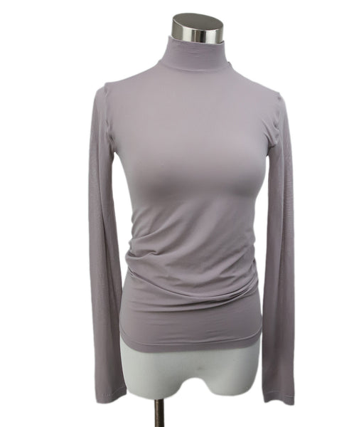 Wolford Mauve Nylon Spandex Top 1