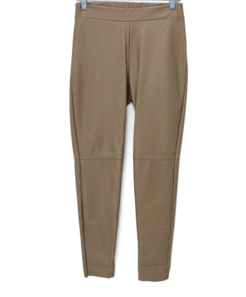 Wolford Neutral Beige Leather Pants