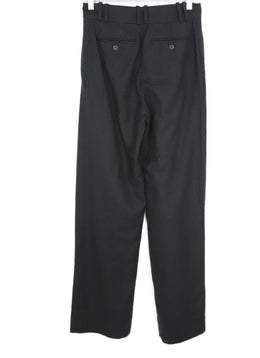 YSL Charcoal Wool Cashmere Pants 2