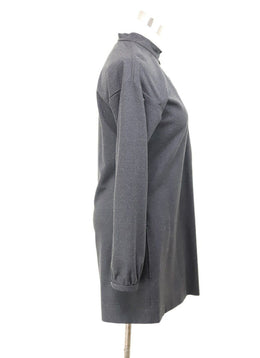 YSL Dark Grey Wool Tunic 1