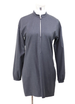 YSL Dark Grey Wool Tunic