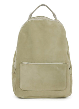 Yeezy Neutral Beige Suede Zipper Season 5 Backpack 1
