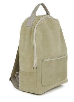 Yeezy Neutral Beige Suede Zipper Season 5 Backpack 2