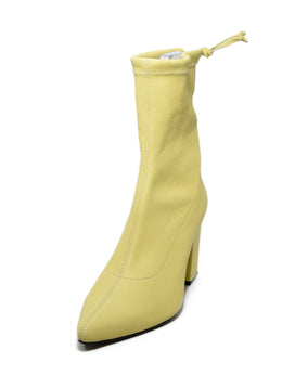Anine Bing Yellow Leather Booties 1