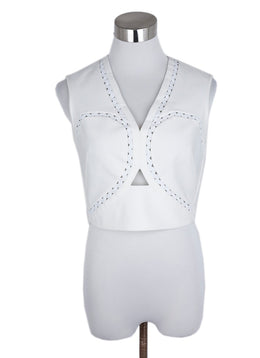 Yigal Azrouel White Cotton Top 1