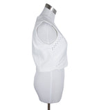 Yigal Azrouel White Cotton Top 2