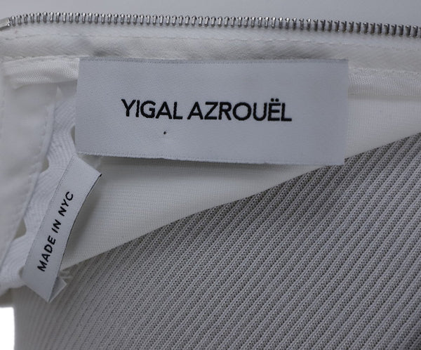 Yigal Azrouel White Cotton Top 4