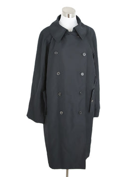 YSL Black Nylon Trenchcoat 1