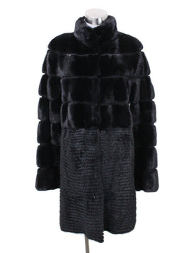 Yves Salomon Black Mink Coat