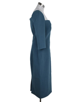 Zac Posen Green Acetate Polyester Dress 2