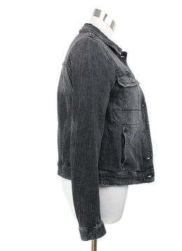 Zadig & Voltaire Black Denim Jacket 2