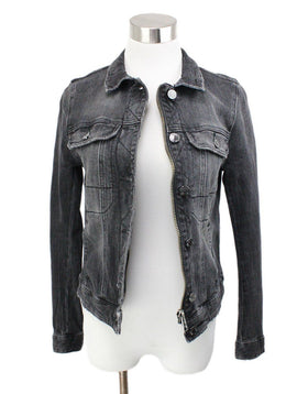 Zadig & Voltaire Black Denim Jacket 1