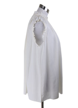 Zimmerman White Sleeveless Blouse 1