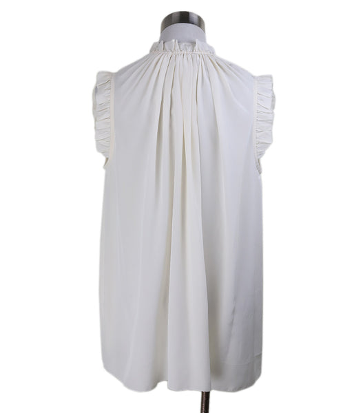 Zimmerman White Sleeveless Blouse 2