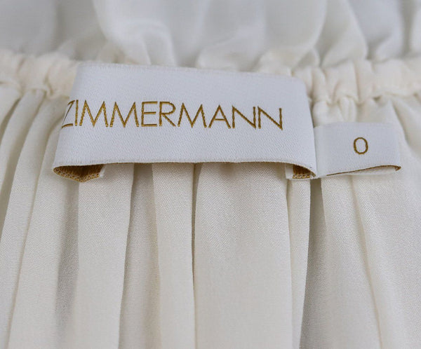 Zimmerman White Sleeveless Blouse 3