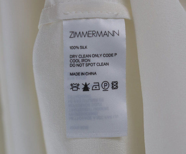 Zimmerman White Sleeveless Blouse 4