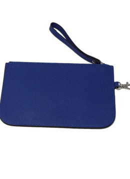 Loxwood Blue Leather Clutch 1