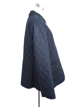 Burberry Black Cotton Quilted Coat 2