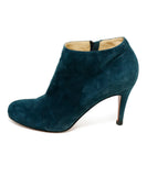 Christian Louboutin Blue Teal Suede Booties 2