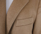 Max Mara Neutral Tan Camel Hair Coat 5